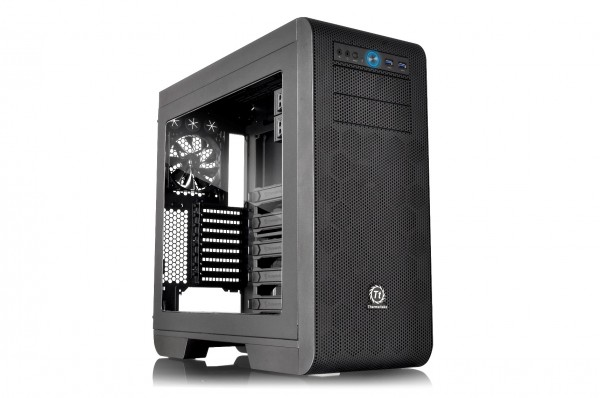 Thermaltake Core V51 High-End Window Mid-Tower Chassis Announced