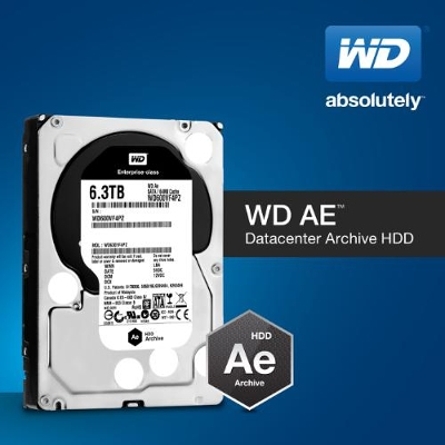 WD Ae Cold-Data-Storage HDD Introduced