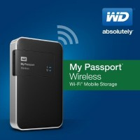 WD My Passport Wireless Mobile Device External Hard Drive Introduced
