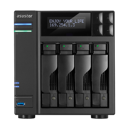 ASUSTOR AS7004T Tower Model NAS Announced