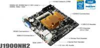BIOSTAR J1900NH2 Mini-ITX Motherboard Announced