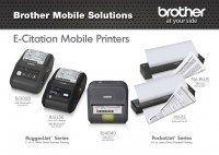 Brother Mobile Solutions PocketJet and RuggedJet Mobile Printers Debut