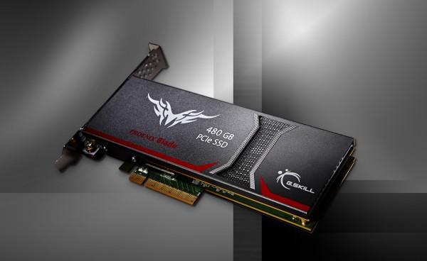 G.SKILL Phoenix Blade Series PCIe SSD Released