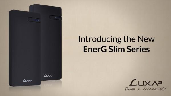 LUXA2 EnerG Slim 5000 / 10000mAh Power Banks Launched