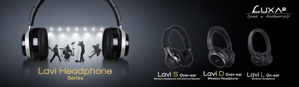 LUXA2 Lavi Series Headphones Launched