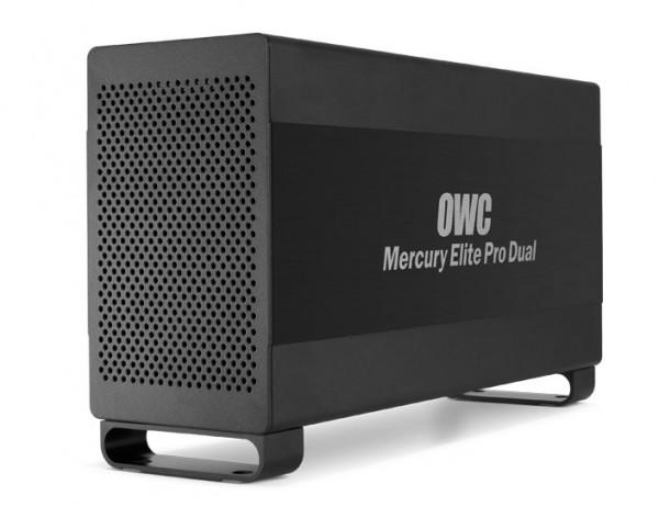 OWC Mercury Elite Pro Dual Storage Solution Launched