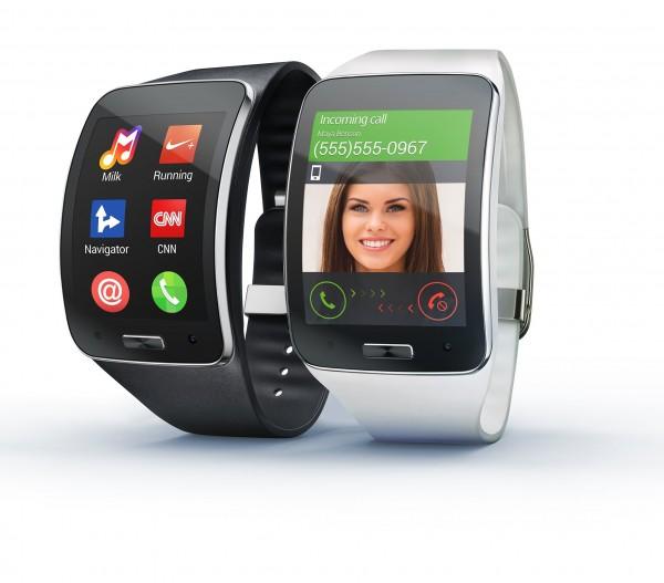 Samsung Gear S Wearable Smart Device Announced