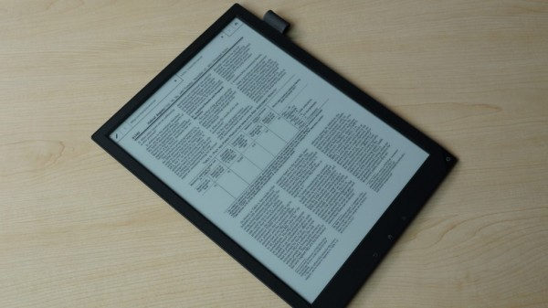 Sony Digital Paper with Cloud Storage Compatibility Launched