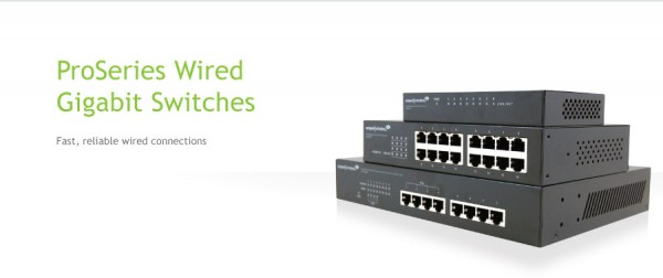 Amped Wireless G8SW, G16SW, and GP48SW Wired Network Switches Debut