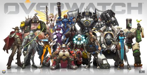Blizzard Entertainment Overwatch Team-Based Shooter Game Introduced