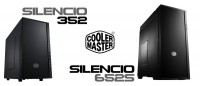 Cooler Master Silencio 652S & 352 PC Cases Launched in North America