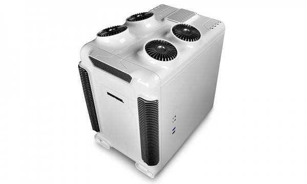 DEEPCOOL STEAM CASTLE BKS & WHS Micro ATX Computer Chassis Announced