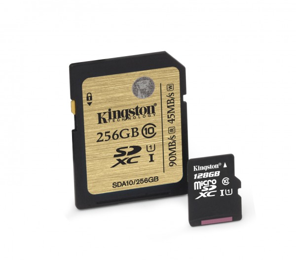 Kingston Digital Class 10 UHS-I microSD and Class 10 UHS-I SDHC/SDXC Cards Debut