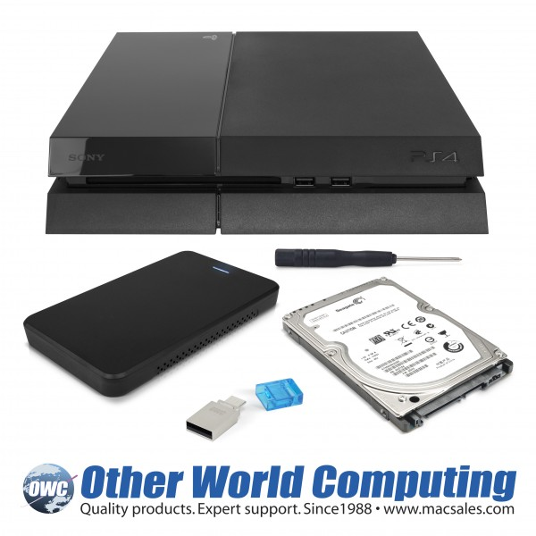 OWC Hard Drive Upgrade Kit for PlayStation 4 Announced