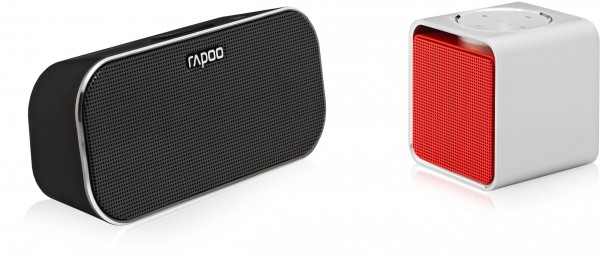 Rapoo A500 and A300 Bluetooth 4.0 Portable Speakers Introduced