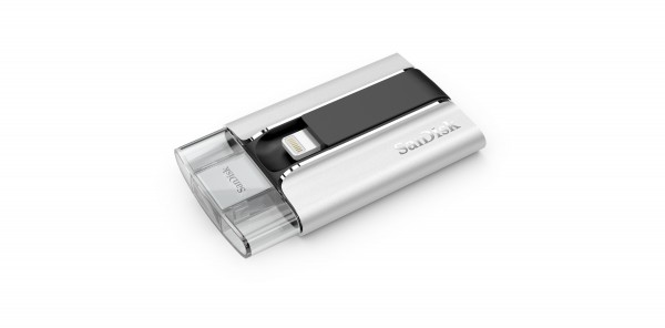 SanDisk iXpand Flash Drive for iPhone and iPad Introduced