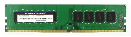 Super Talent DDR4 DRAM Modules Unveiled