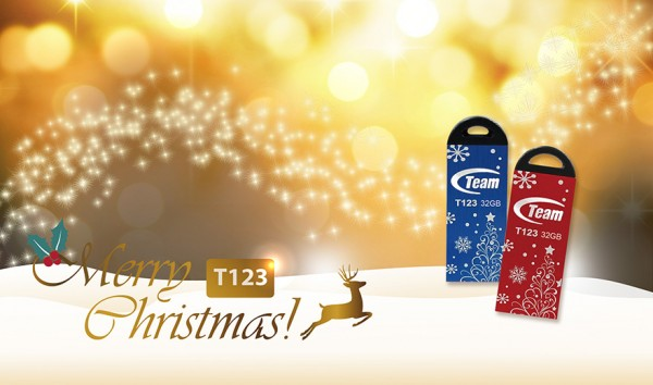 Team Group T134 & T123 Winter Edition USB Flash Drives Unveiled