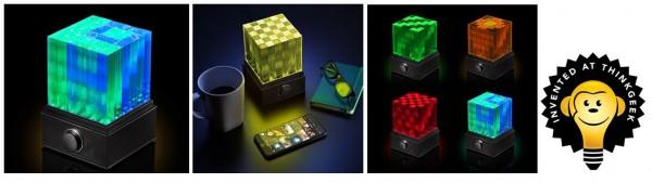 ThinkGeek SuperNova Light Cube LED Bluetooth Speaker Unveiled
