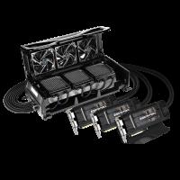 GIGABYTE GTX980 WATERFORCE 3-Way SLI Kit Liquid Cooler Introduced