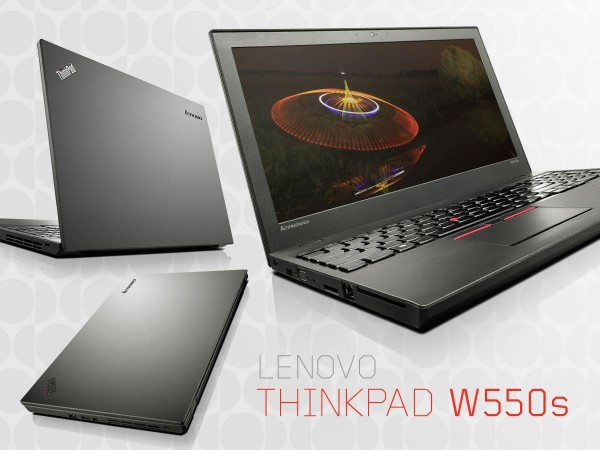Lenovo ThinkPad W550s Ultrabook Workstation Announced