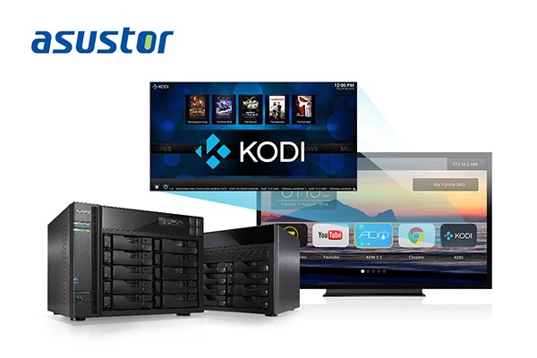 ASUSTOR First to Support Kodi on NAS