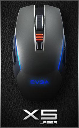 EVGA TORQ X5 & X3 Gaming Mice Introduced