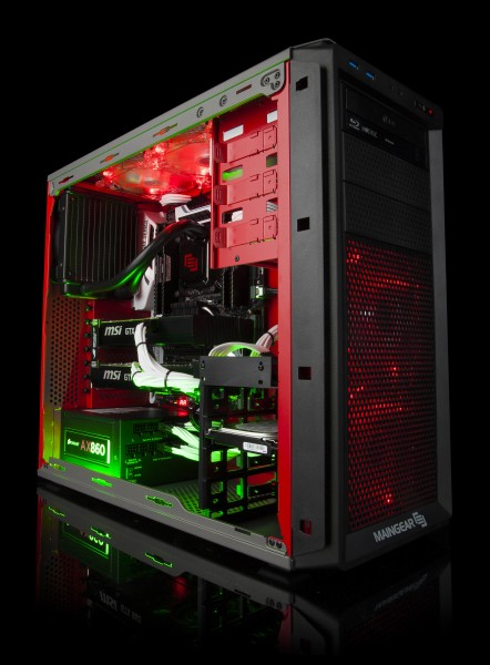 MAINGEAR Upgrades High-Performance Desktop Lineup with NVIDIA GTX 960 Graphics Car