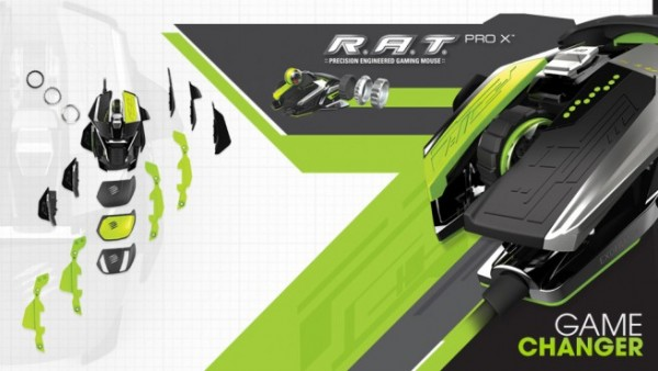 Mad Catz R.A.T. PROX Gaming Mouse Announced