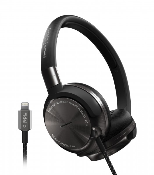 Philips Fidelio NC1L On-Ear Headphones Introduced