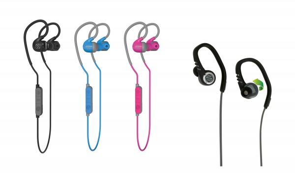 Scosche sportCLIP Earbuds Unveiled
