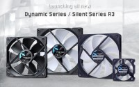Fractal Design Silent Series R3 Fans Announced
