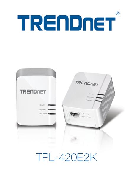 TRENDnet TPL-420E2K Powerline 1200 Adapter Released