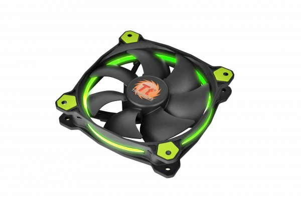 Thermaltake Riing 12 and 14 LED Radiator Fan Series Announced