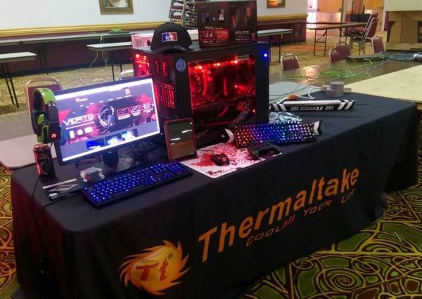 Thermaltake and Tt eSPORTS Sustainable Case Modding Solutions Displayed at PDXLAN25
