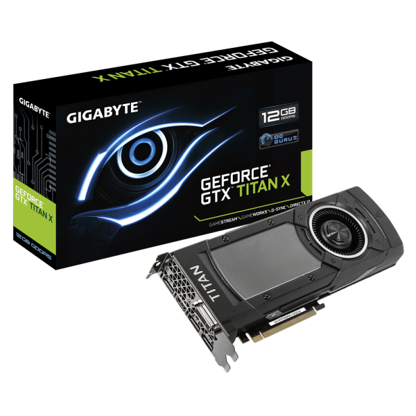 GIGABYTE GeForce GTX TITAN X Graphics Card Launched