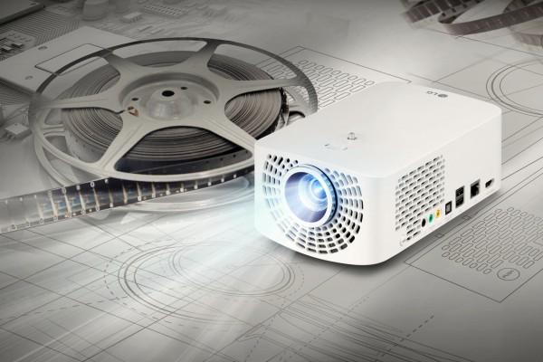 LG Minibeam Pro and Minibeam TV Portable Projectors Debut