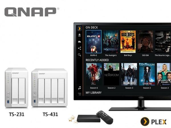 QNAP Plex Media Server App for Turbo NAS TS-x31 Series Released