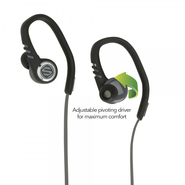 SCOSCHE sportCLIP 3 Adjustable Sport Earbuds Released