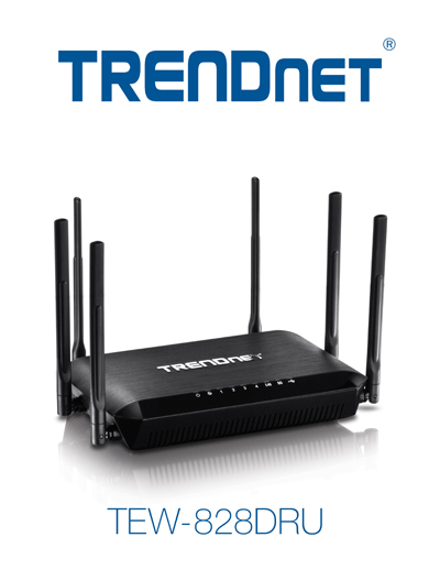 TRENDnet TEW-828DRU AC3200 Tri Band Wireless Router Launched