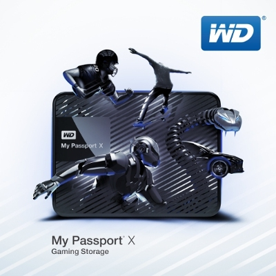 WD My Passport X Portable Hard Drive Introduced