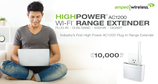 Amped Wireless REC22A Plug-In Wi-Fi Extender Released