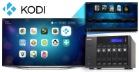 QNAP NAS Upgraded to Support Kodi Entertainment Center