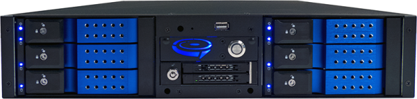 NetSwap 600 Rack Mounted Computer Backup NAS System