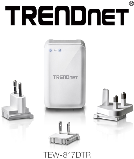 TRENDnet TEW-817DTR WiFi AC750 Travel Router Launched