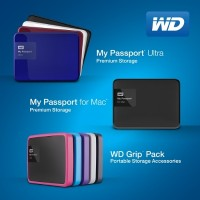 WD My Passport Portable Hard Drive Redesigned