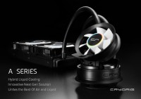 CRYORIG A40, A40 Ultimate and A80 Hybrid Liquid Coolers Unveiled