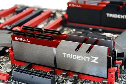 G.SKILL Trident Z series DDR4 Memory Released
