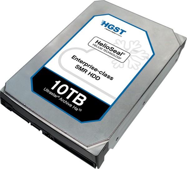 HGST Ultrastar Archive Ha10 SMR HDD Introduced
