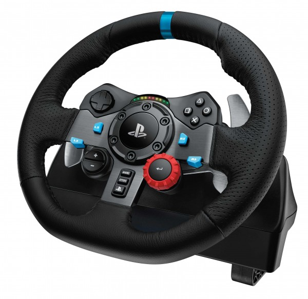 Logitech G29 Driving Force Feedback Racing Wheel Introduced